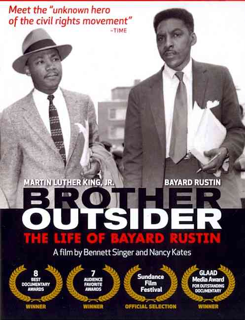 BROTHER OUTSIDER:LIFE OF BAYARD RUSTI BY RUSTIN,BAYARD (DVD)